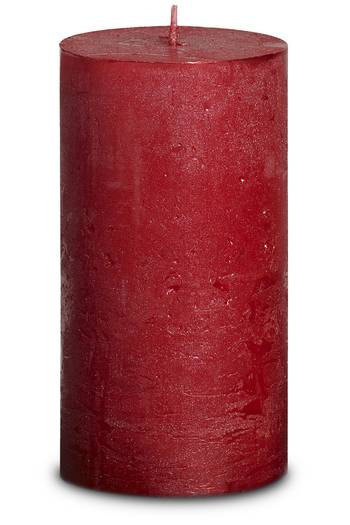 Rustic Metallic Sensation 130/68 mm - rot