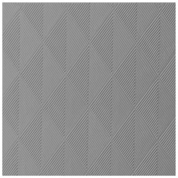 "Duni: Elegance-Servietten 40x40 cm ""Chrystal"" (40er Pack) - granite grey"