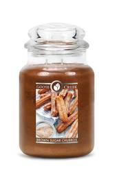 Goose Creek - 2-Docht Duftglas - Brown Sugar Churros (680g)