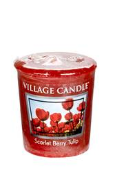 Village Candle Votive 57g (2 OZ) - Scarlet Berry Tulip
