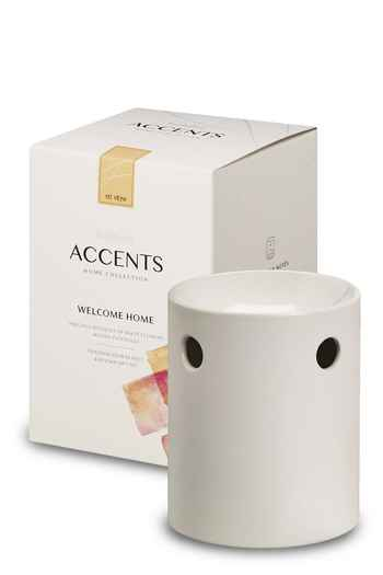 Bolsius: ACCENTS Duftlampe & Wax Melt Geschenkset - Welcome Home