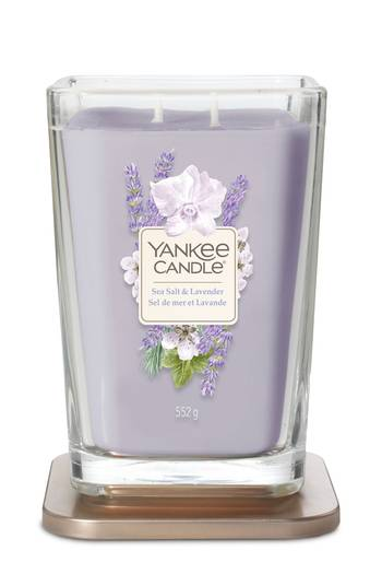 NEU: Yankee Candle ELEVATION: 2-Docht Duftglas - Sea Salt & Lavender