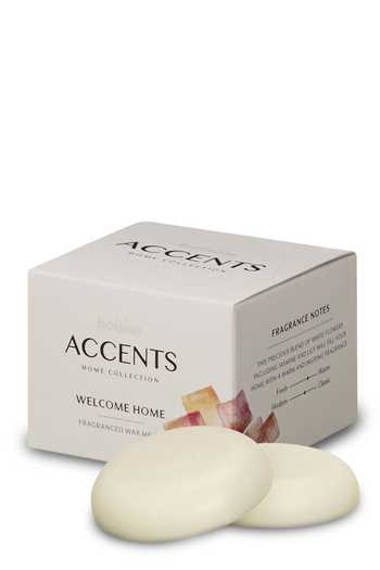 Bolsius: Accents Wax Melts - Welcome Home (3er Pack)