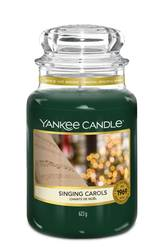 Yankee Candle: Housewarmer groß -   Singing Carols
