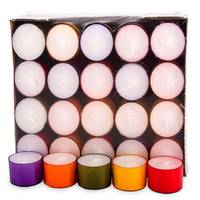 Teelichter Winterlights (40er Pack) - Bunter Mix