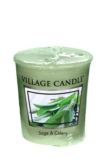 Village Candle Votive 57g (2 OZ) - Sage & Celery