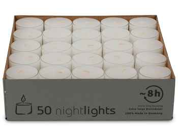 Teelichter Nightlights (50er Pack)